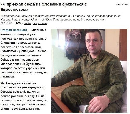 Na Ukrajine bojuje ďalší