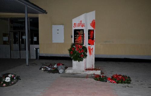 Pamätník komunistického politika Vasiľa