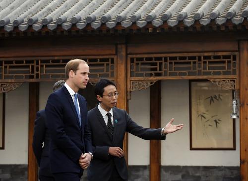 Princ William pricestoval na