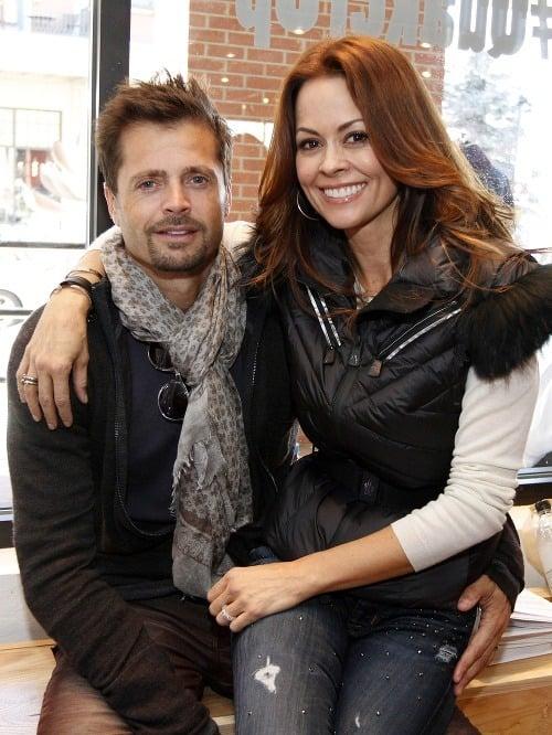 Brooke Burke a David