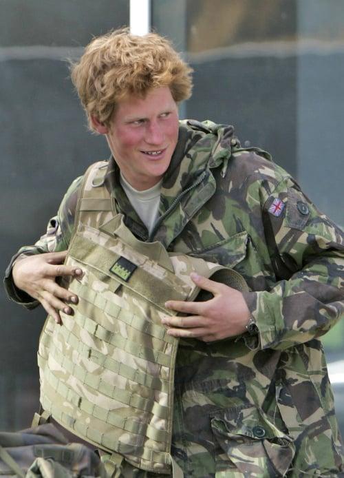 Princ Harry končí v