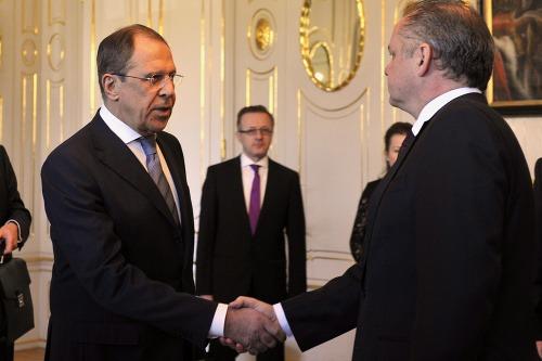 Andrej Kiska a Sergej