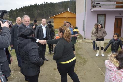 FOTO Prezident Kiska vyrazil
