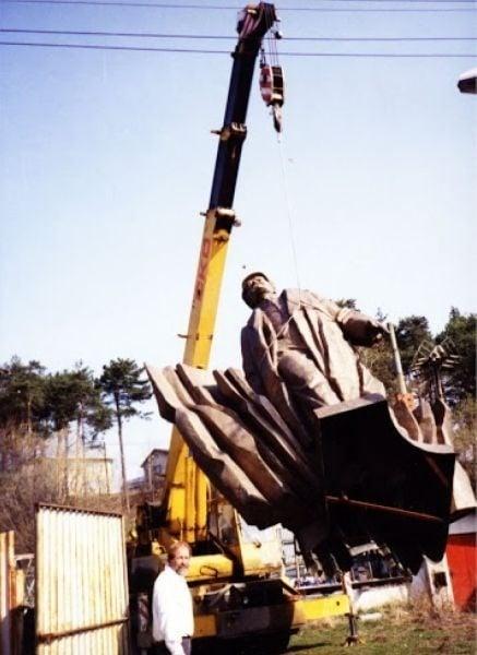 Lenin v roku 1993