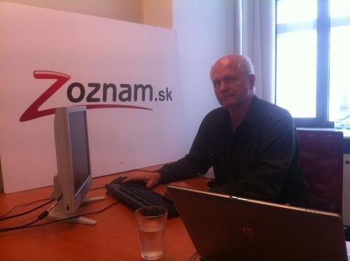 Peter Jurčovič bol online.