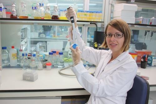 Mikrobiologička Mária Džunková