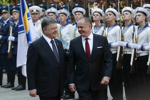Andrej Kiska a Petro