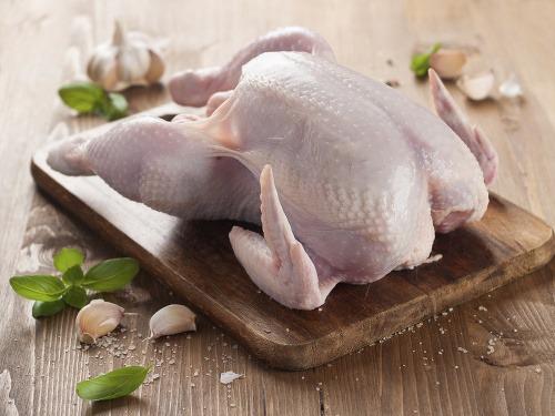 Neumývajte kura pre jeho