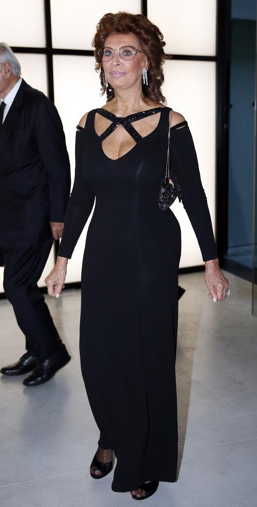 Sophia Loren aj v