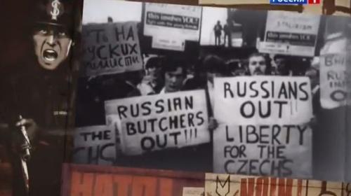 Záber z dokumentu ruskej