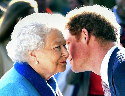 Princ Harry a britská