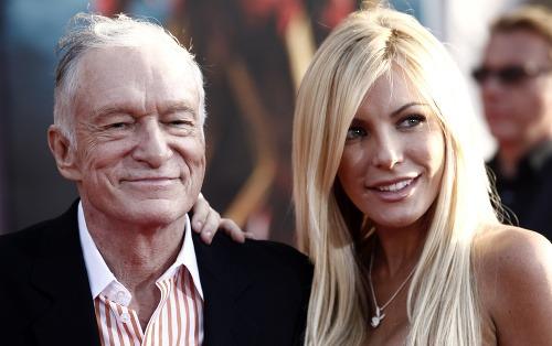 Hugh Hefner s manželkou