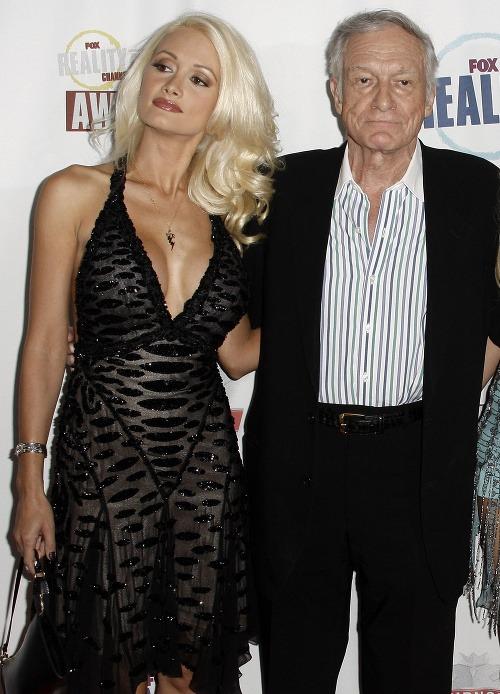 Holly Madison a Hugh