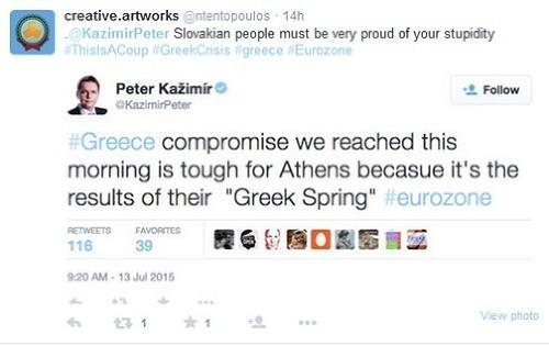 Kažimír postavil Grécko jednou
