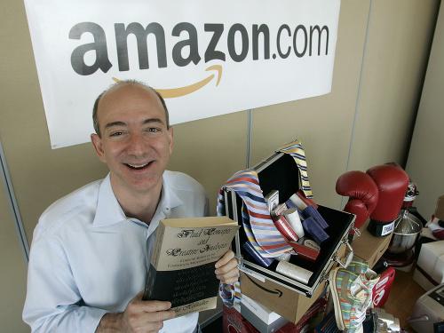 Šéf spoločnosti Jeff Bezos