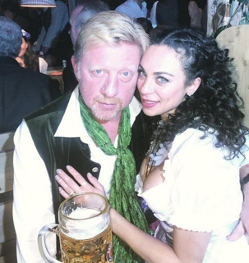 Boris Becker s manželkou