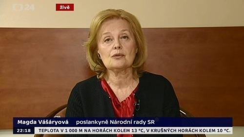 Magdaléna Vášáryová kritizovala našich