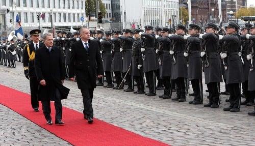 Fínsky prezident Sauli Niinistö
