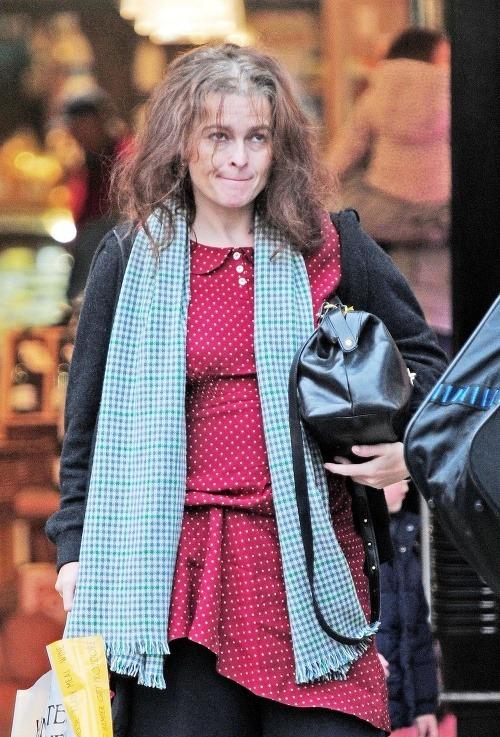 Helena Bonham Carter bežne