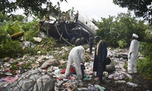 Havária lietadla v Južnom