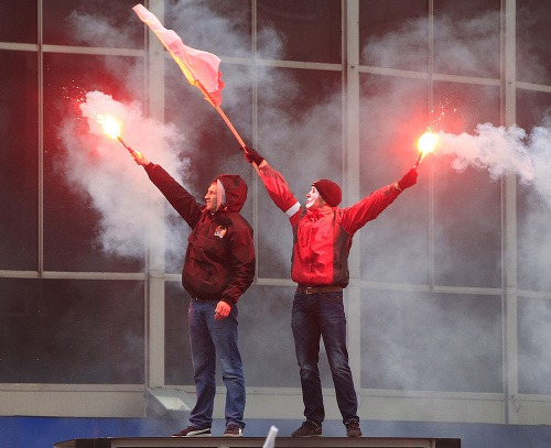 V Poľsku ľudia demonštrujú
