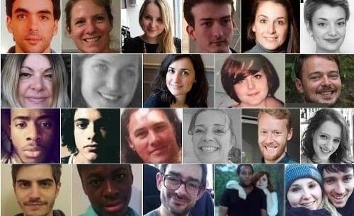 Toto sú tváre obetí,