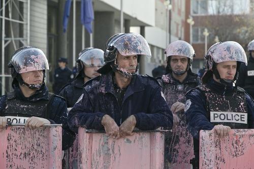 Opozičné protesty v Kosove
