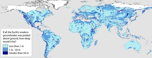 dobre vode mapa Svetu dochádza voda: MAPA, ktorá odhaľuje krutú pravdu, vedci  dobre vode mapa