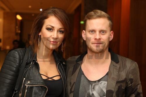 Jakub Prachař s manželkou