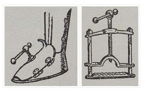 Ukážky mučiacich nástrojov (Jan