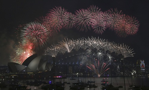 Sydney privítalo nový rok