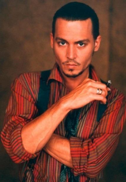 Johnny Depp kedysi.