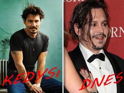 Johnny Depp bol kedysi