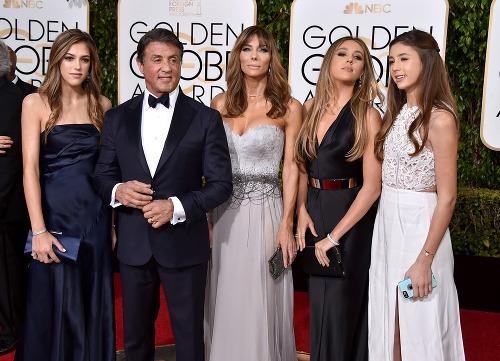 Sylvester Stallone s dcérami