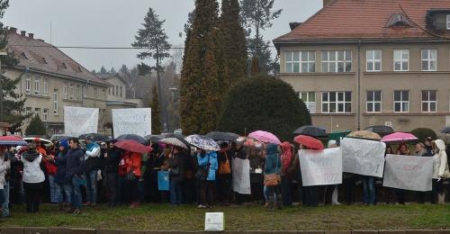 Protestujúce prešovské sestry