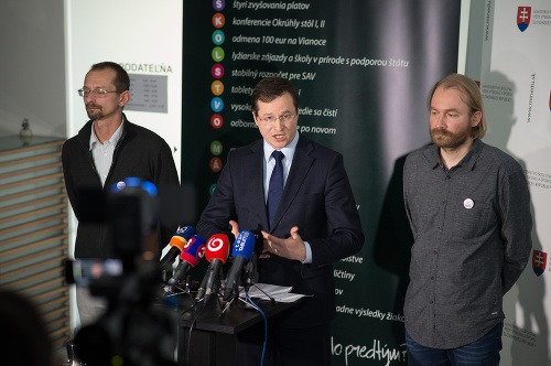 Žlava: Branislav Kočan, Minister