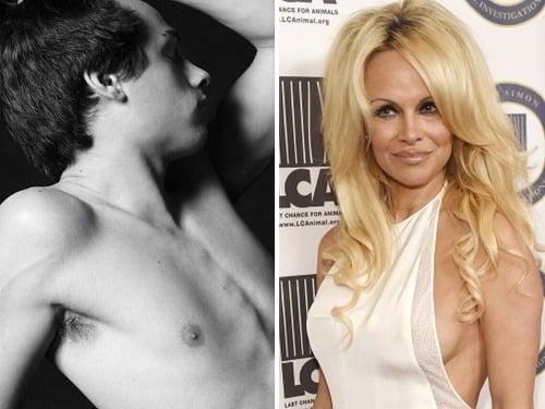 Pamela Anderson je na