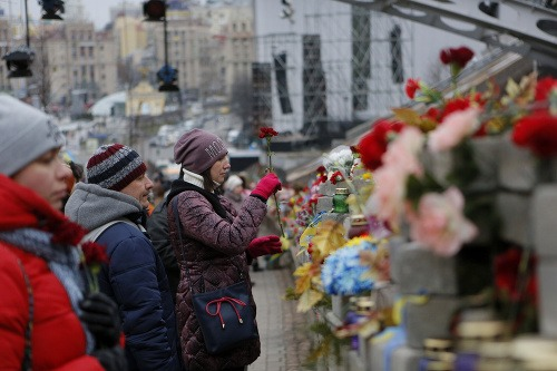 Ukrajina si pripomenula krviprelievanie