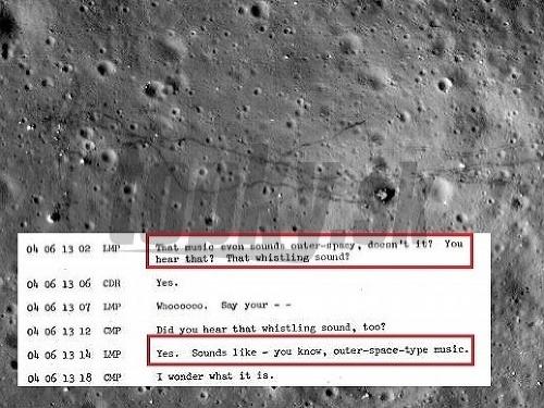 Astronauti o čudných zvukoch,