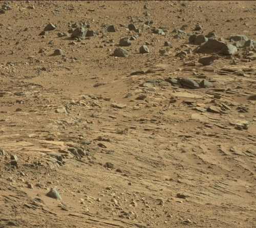 Záhadný útvar na Marse