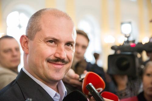 Novozvolený poslanec Marian Kotleba
