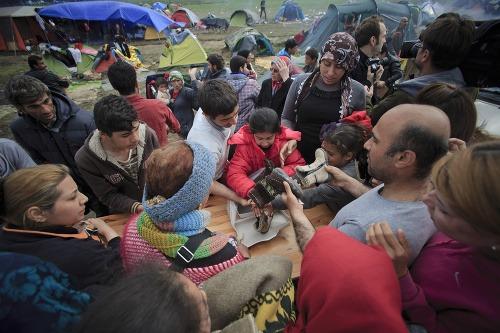 Utečenecký tábor sa mení