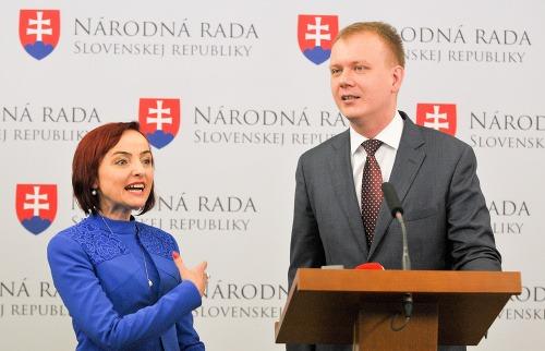 Miroslav Beblavý a Katarína