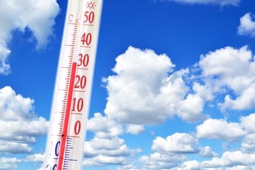 Michal urobil tabuľku teplotných
