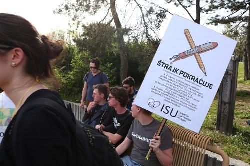 Protest mal pripomenúť vláde