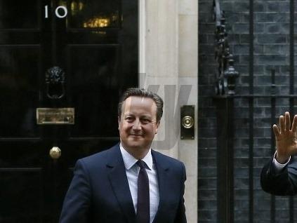 David Cameron a Barack