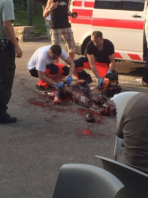 Krvavá dráma v bratislavskom