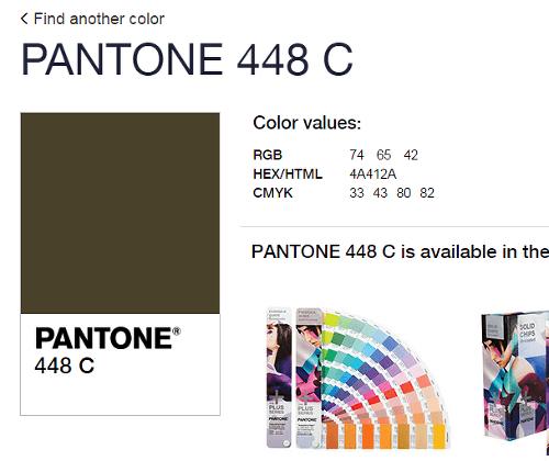 f74587b54f Ľudia vybrali najškaredšiu farbu na svete  FOTO Komu sa páči