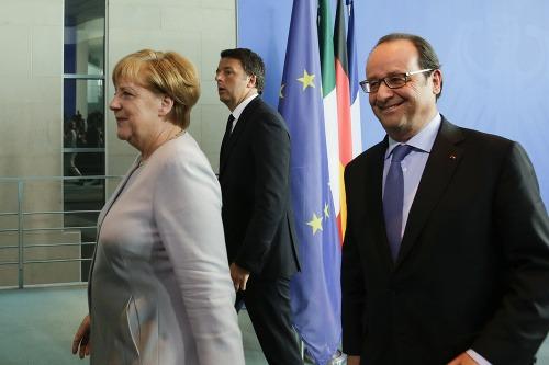 Angela Merkelová sa stretla