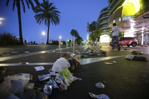 Teroristický čin vo Francúzskom